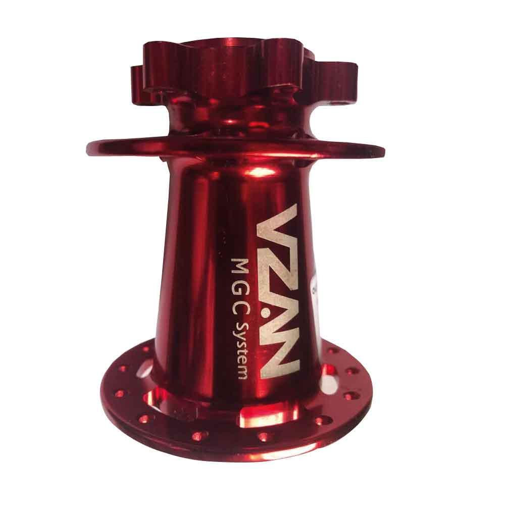 Carcaça Cubo Vzan mgc Systen vermelho V/14  anel estriado