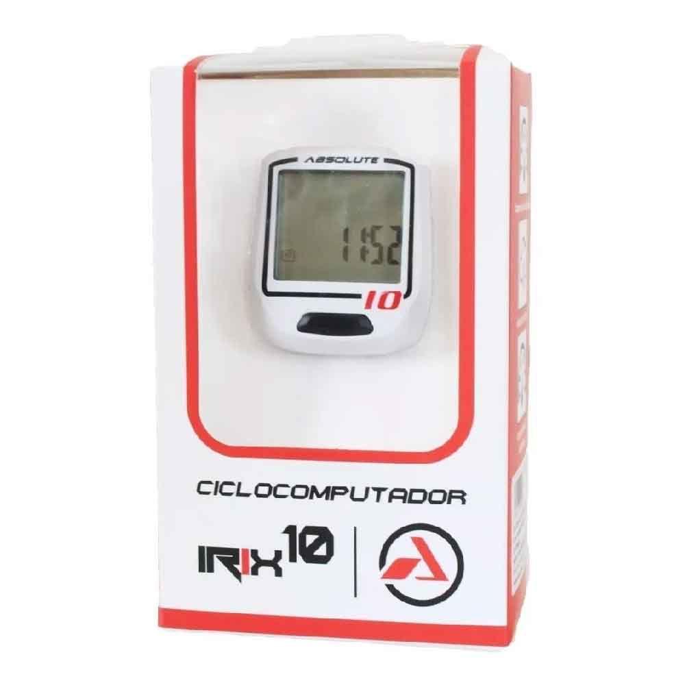 Ciclocomputador Digital Absolute Irix Sem Fio10 F Bco