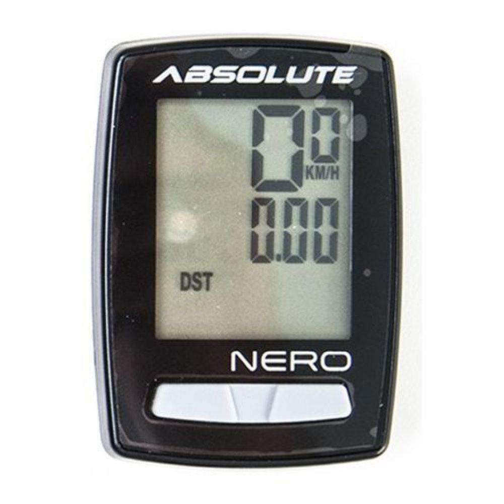 Ciclocomputador Digital Absolute Nero Com Fio 10 Funções