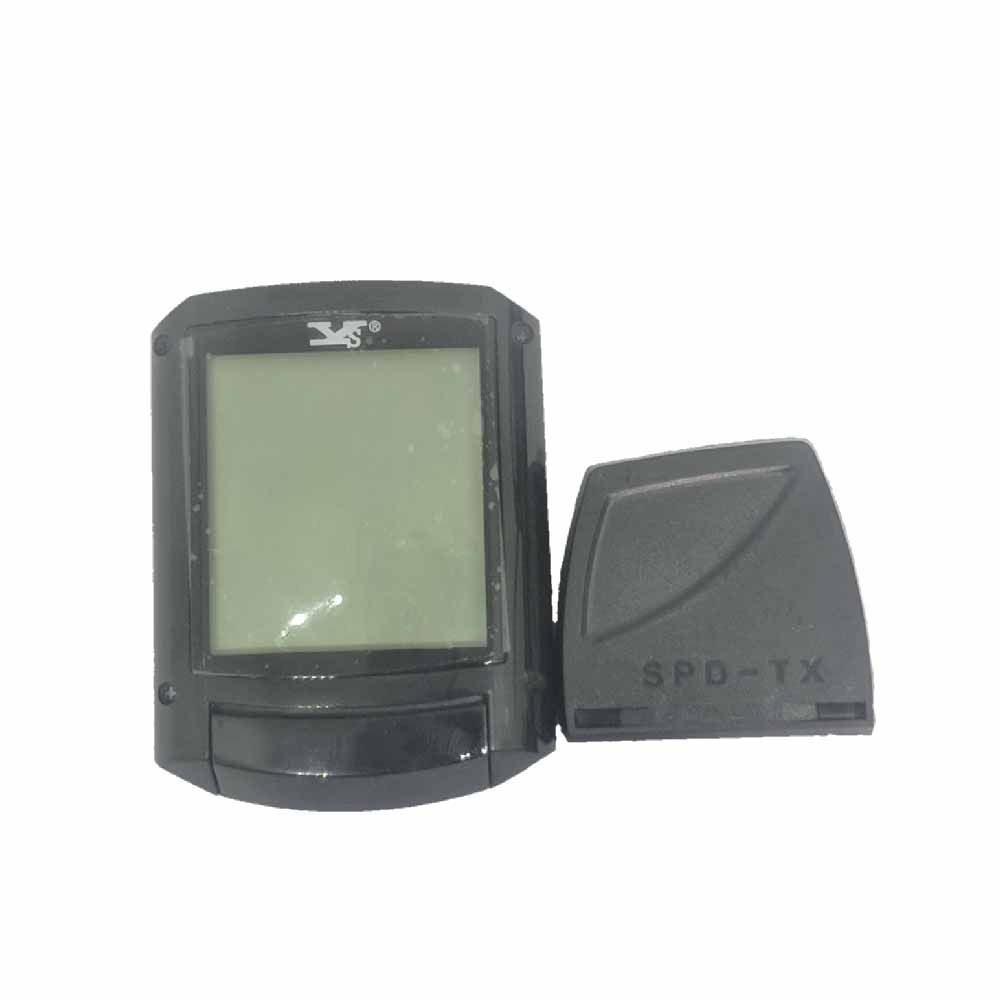 Ciclocomputador Wireless Velocimetro Sette 11F Luz Sem Fio
