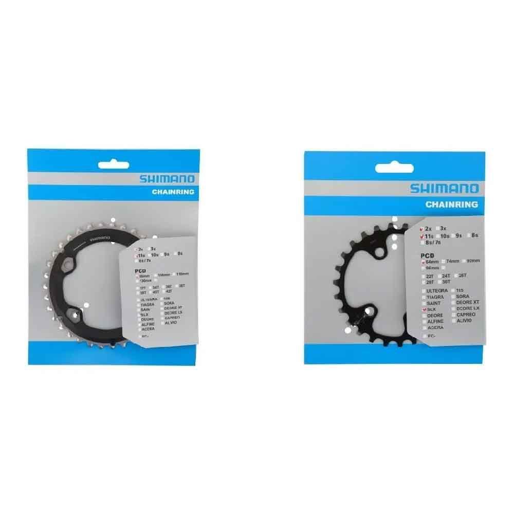 Coroa engrenagem Shimano Slx M7000 2x11 36-26  Slx M7000