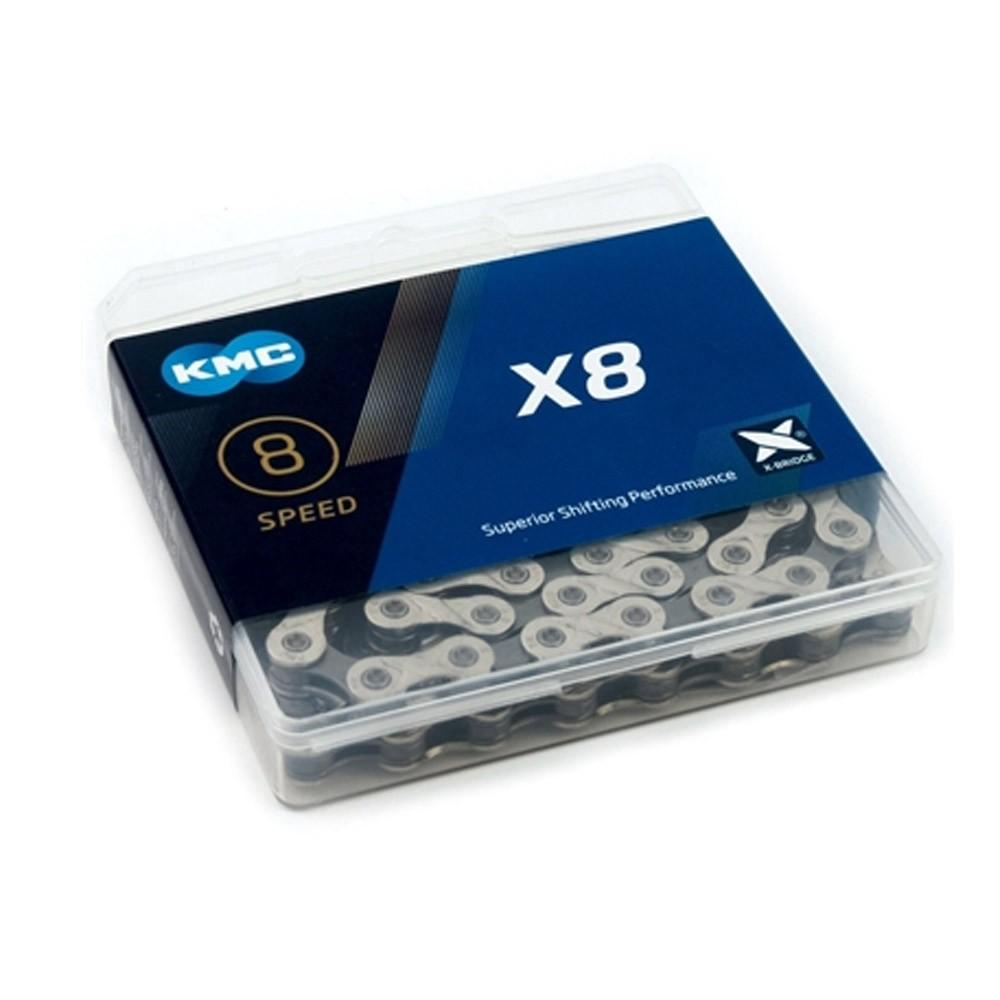 Corrente KMC X8 Compativel shimano/sram P/8v