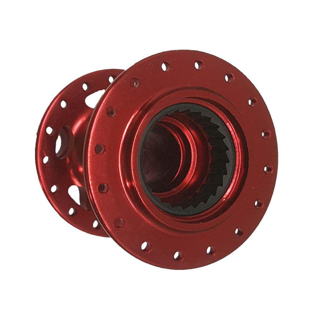 Cubo Traseiro Carcaça 32F High One Absolute  Prime Vermelho