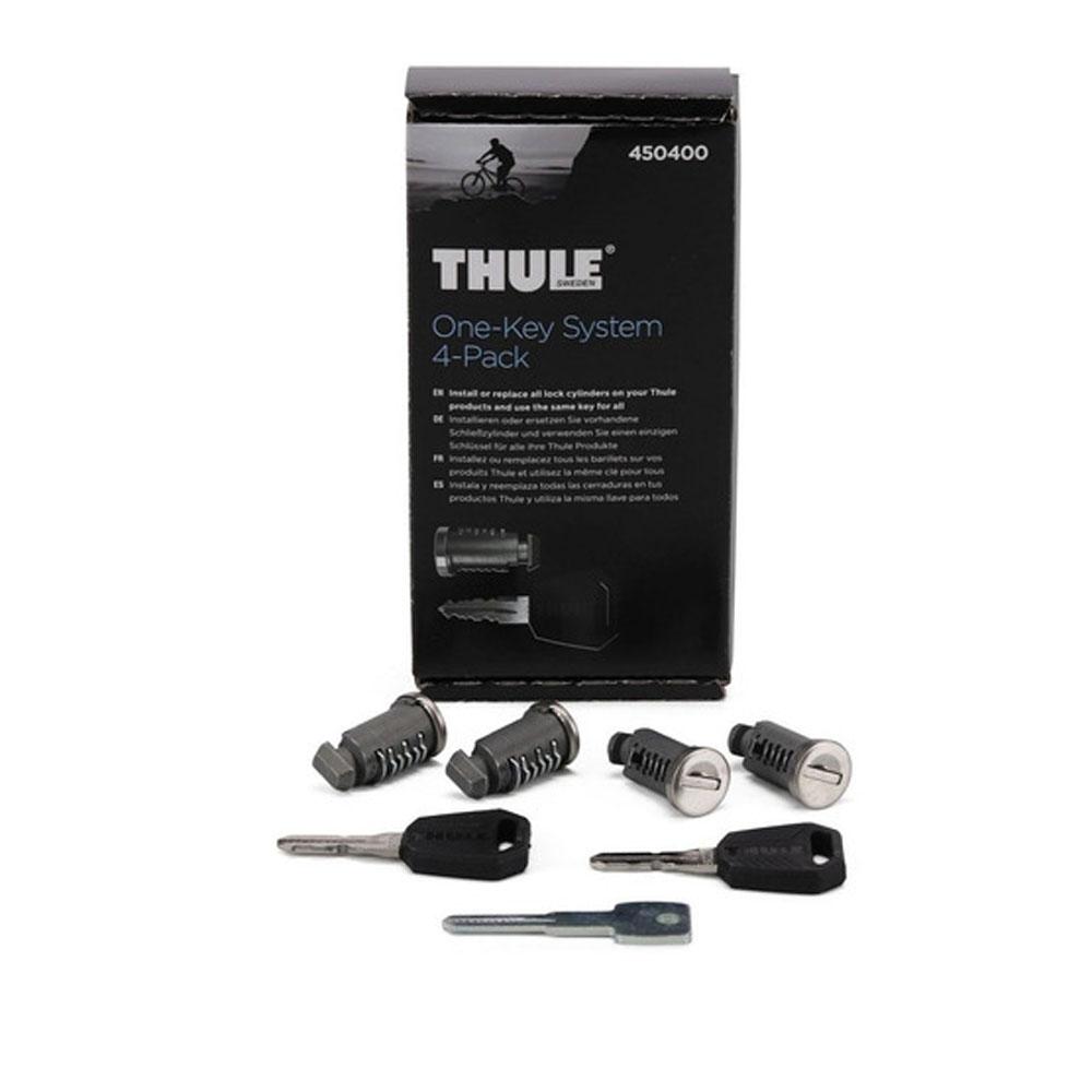 Fechos Para Rack Thule One Key System 4504 Com 4 Peças