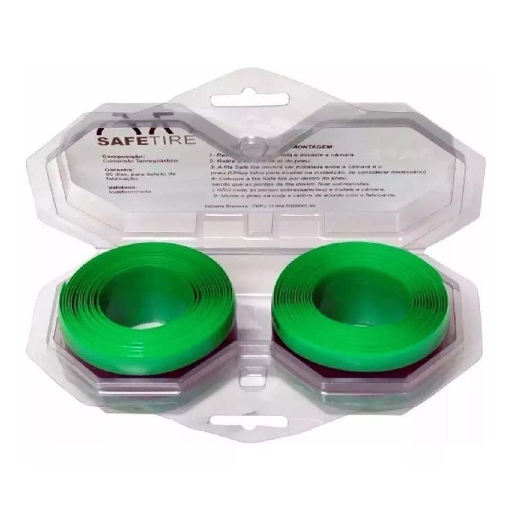 Fita Anti Furo 35MM ARO 26/27.5/29 Safetire Verde