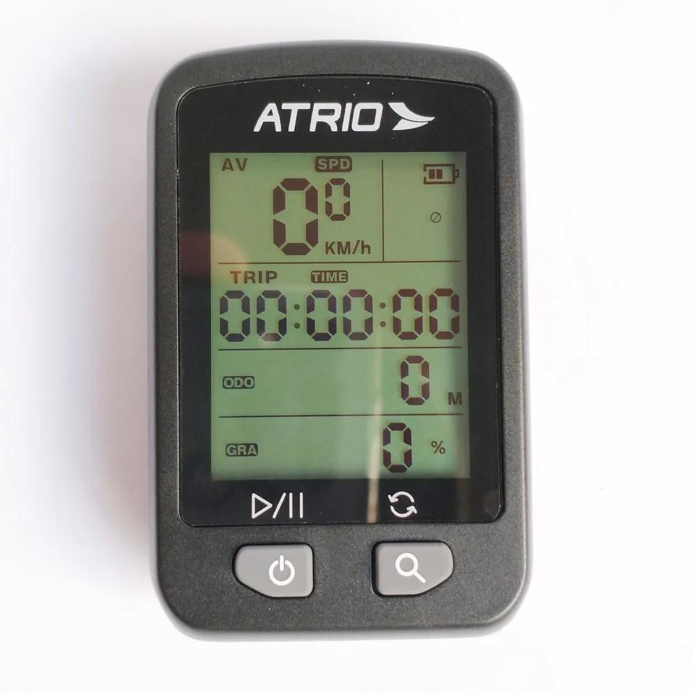 Gps Ciclocomputador Atrio Iron Bi091 Bicicleta Strava