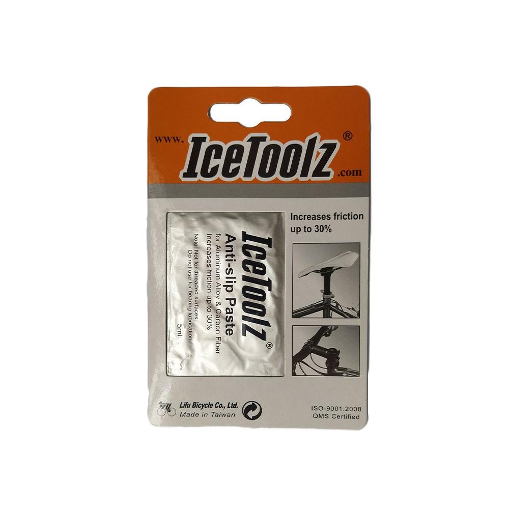 Graxa de carbono IceToolz C145 Anti-Deslizante P/montagem de peças 5ml