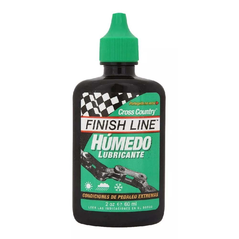 Lubrificante Oleo Finish Line Umido 60ML