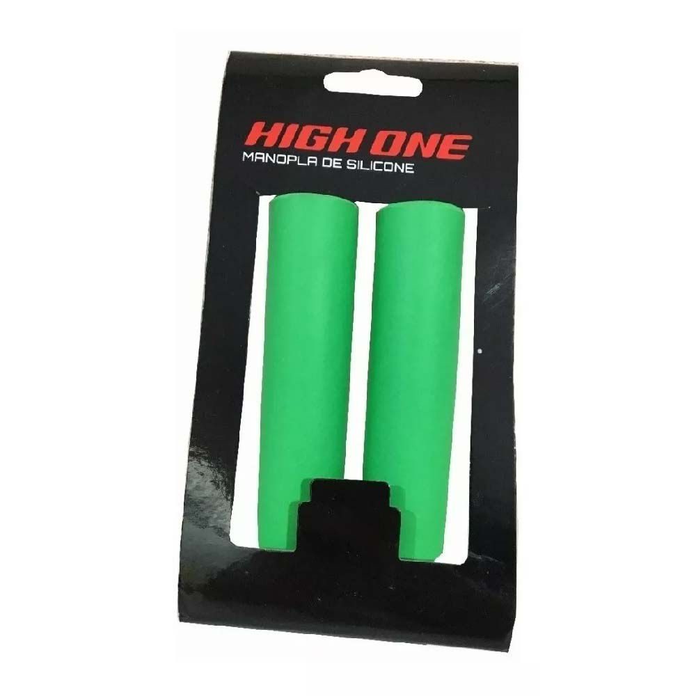 Manopla Punho High One Verde Light Silicone Mtb