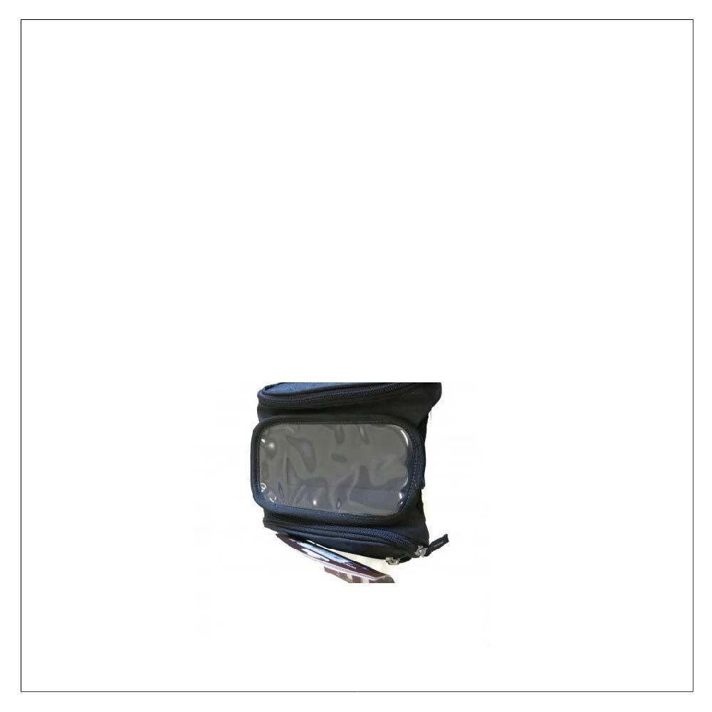 Mini Alforge Northpak  Freedom de Quadro Preto P/ Telefone G