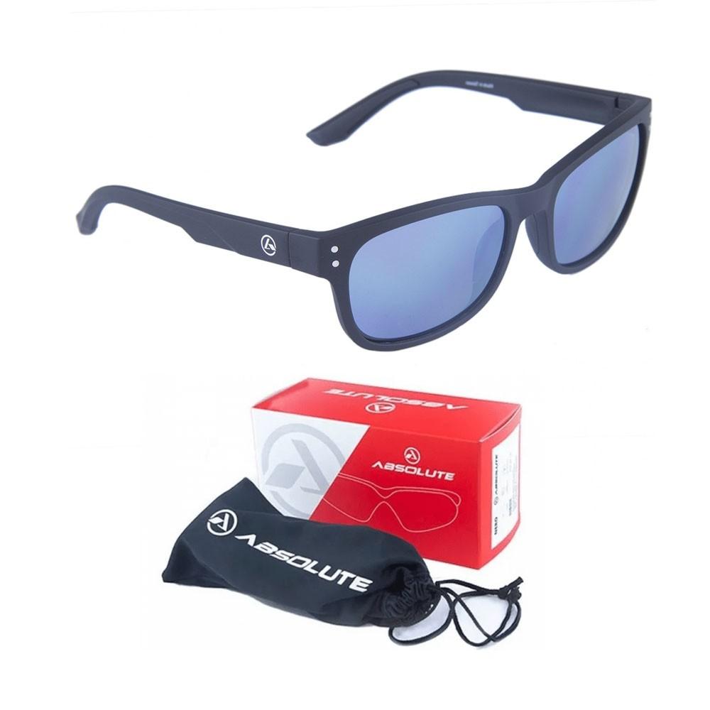 Oculos Absolute After Preto Lente Azul