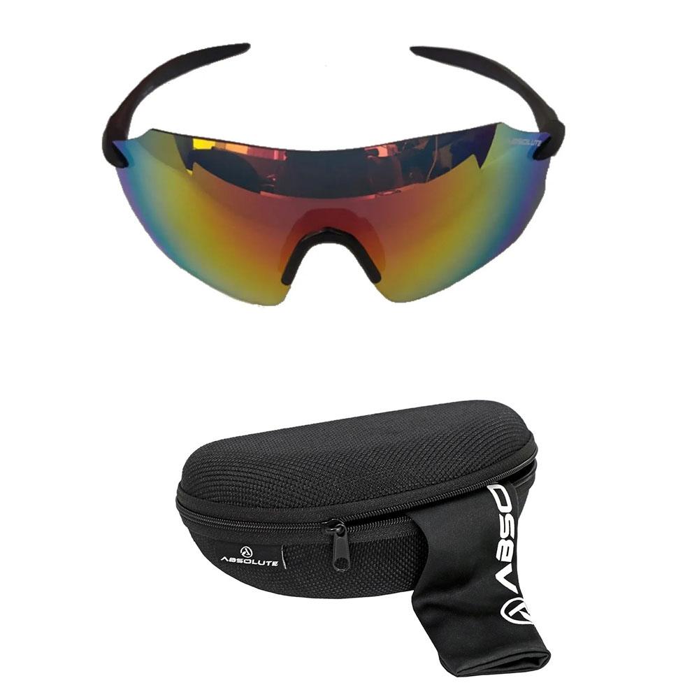 Oculos Absolute Prime SL Preto Fosco Lente Vermelha