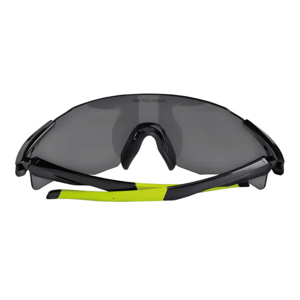 Óculos High One Flux 2 Lentes Fume Pto/Amarelo Neon