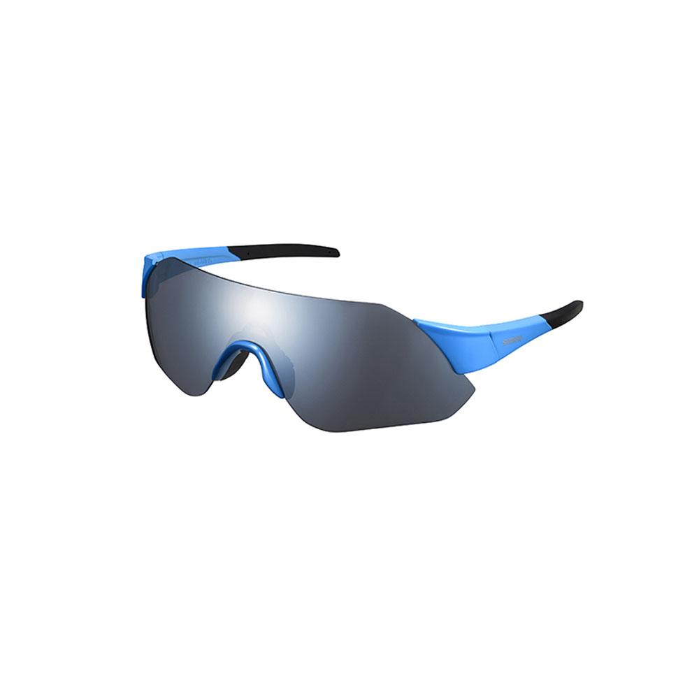 Óculos Shimano Aerolite Azul Lente Cinza Espelhado