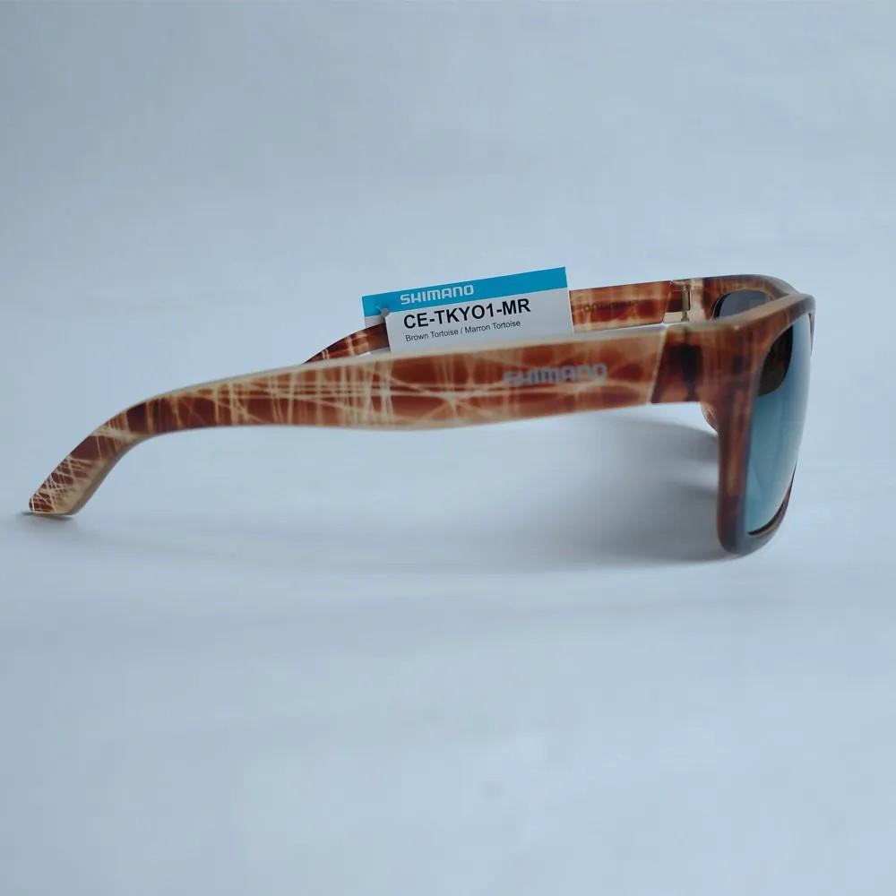 Óculos Shimano Tokyo Marron Lente Laranja Fume Espelhado