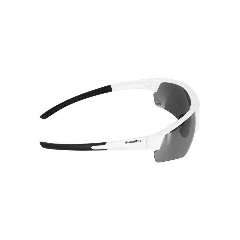 Óculos Shimano Twinspark Ce-tspk1-mr Branco Lente Cza Espelhado