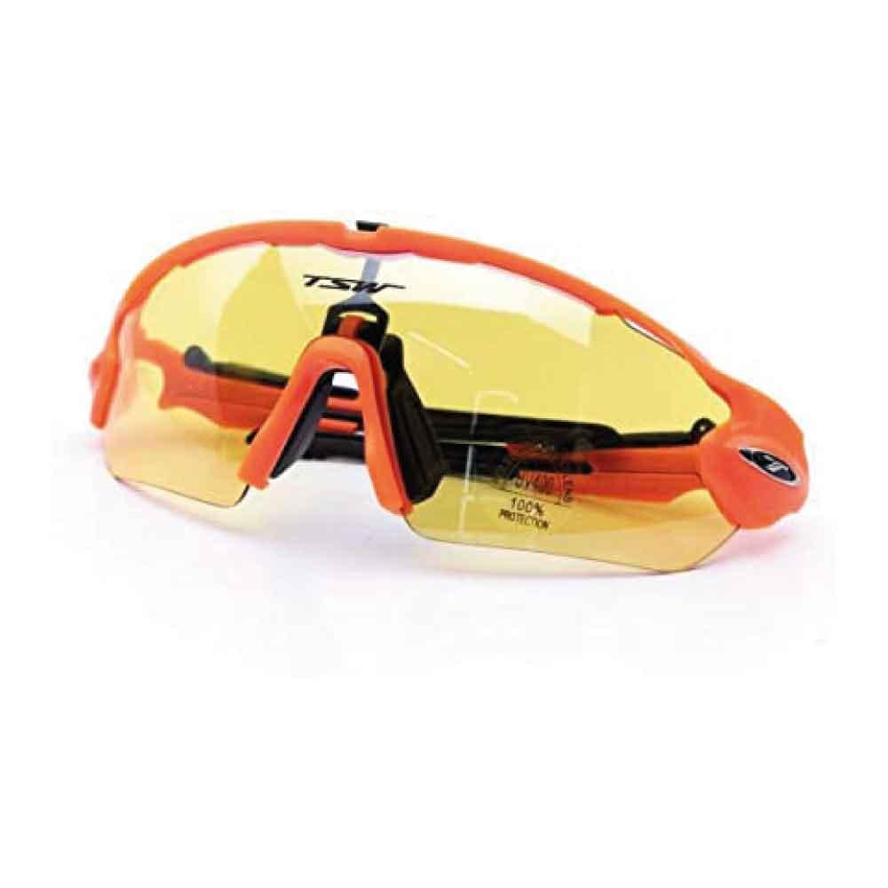 Óculos Tsw Venom 3 Lentes Laranja Com Preto