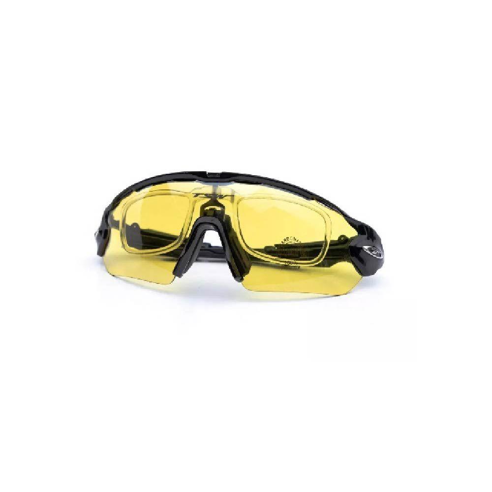 Óculos Tsw Venom 3 Lentes Preto Com Cinza
