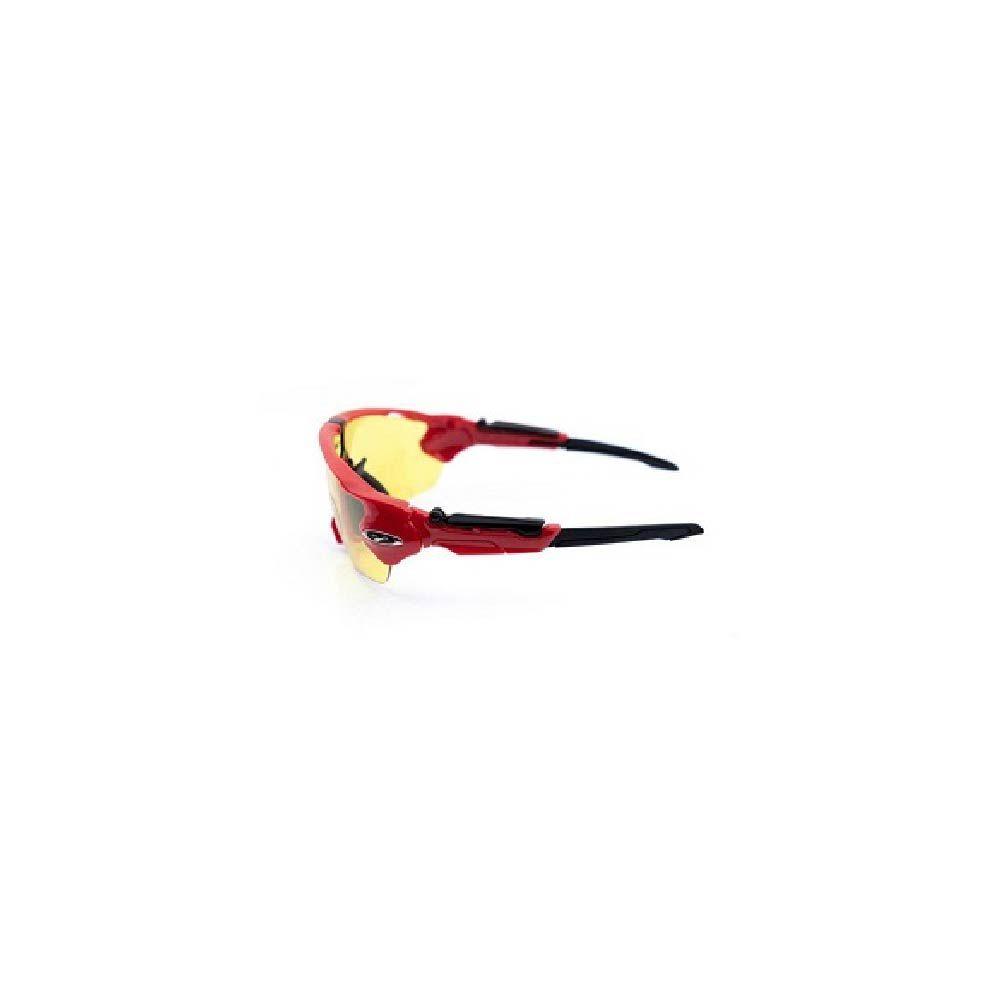 Óculos Tsw Venom 3 Lentes Vermelho Com Preto