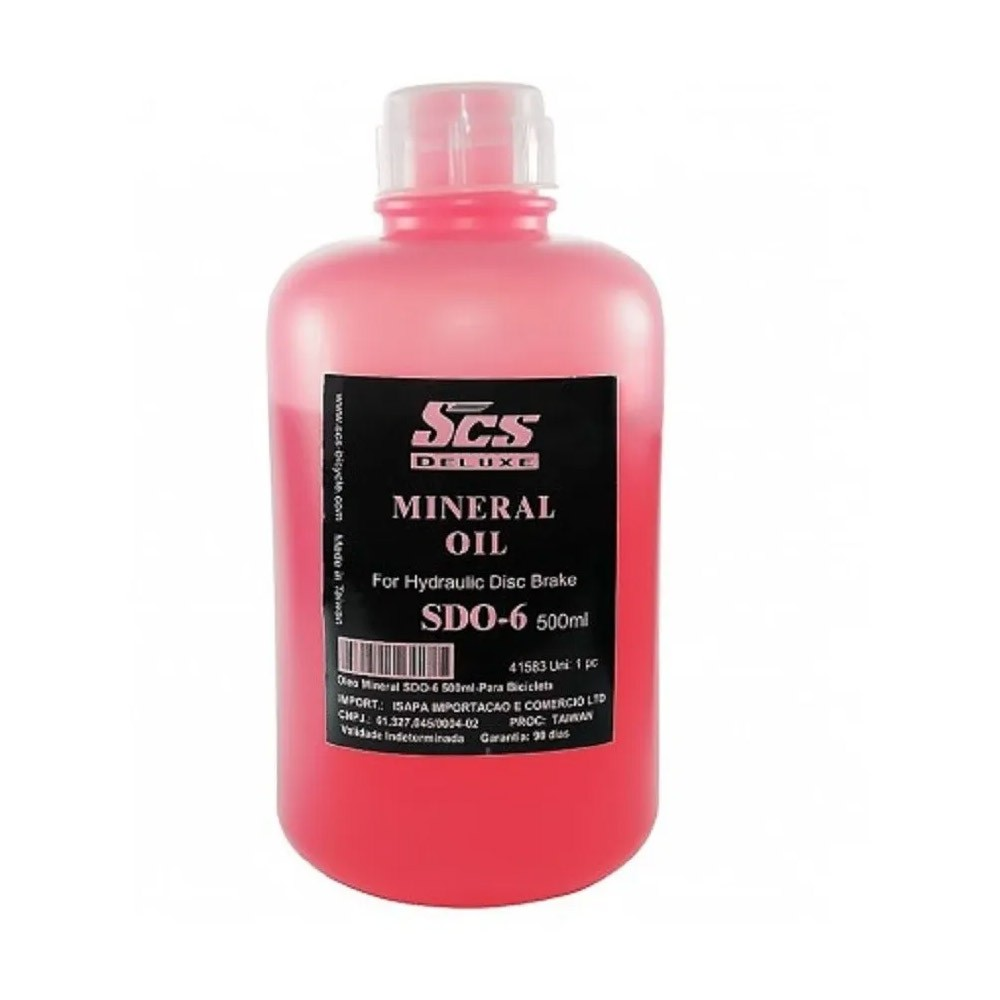 Oleo Mineral Scs Deluxe P/ Sangria 500ML freio a disco