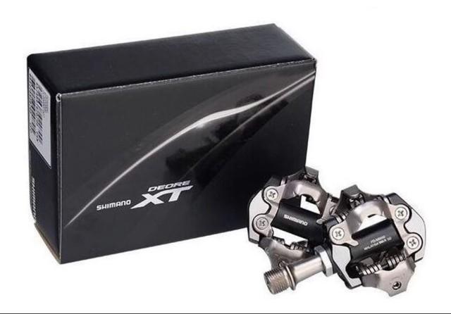 Pedal De Clip Shimano Deore Xt PD-M8100 Preto