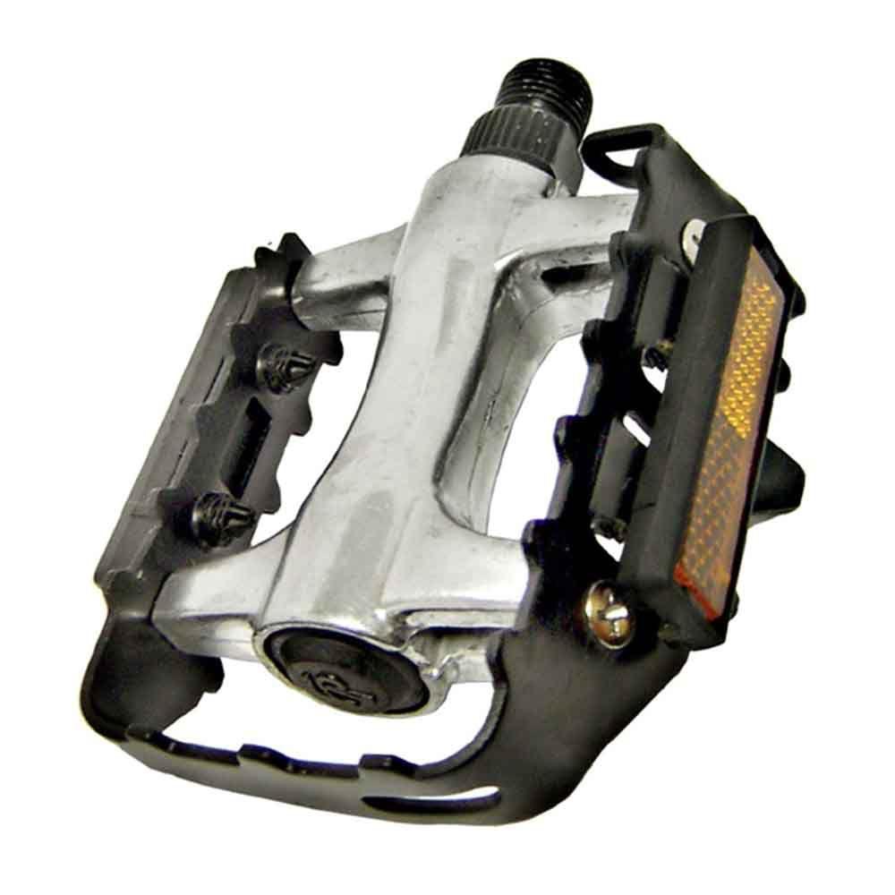 Pedal Feimin Aluminio Grade de Aço  Rosca Grossa 9/16 FP-976