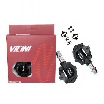 Pedal sapatilha  Vicini Mtb MT530 De Rolamento Preto