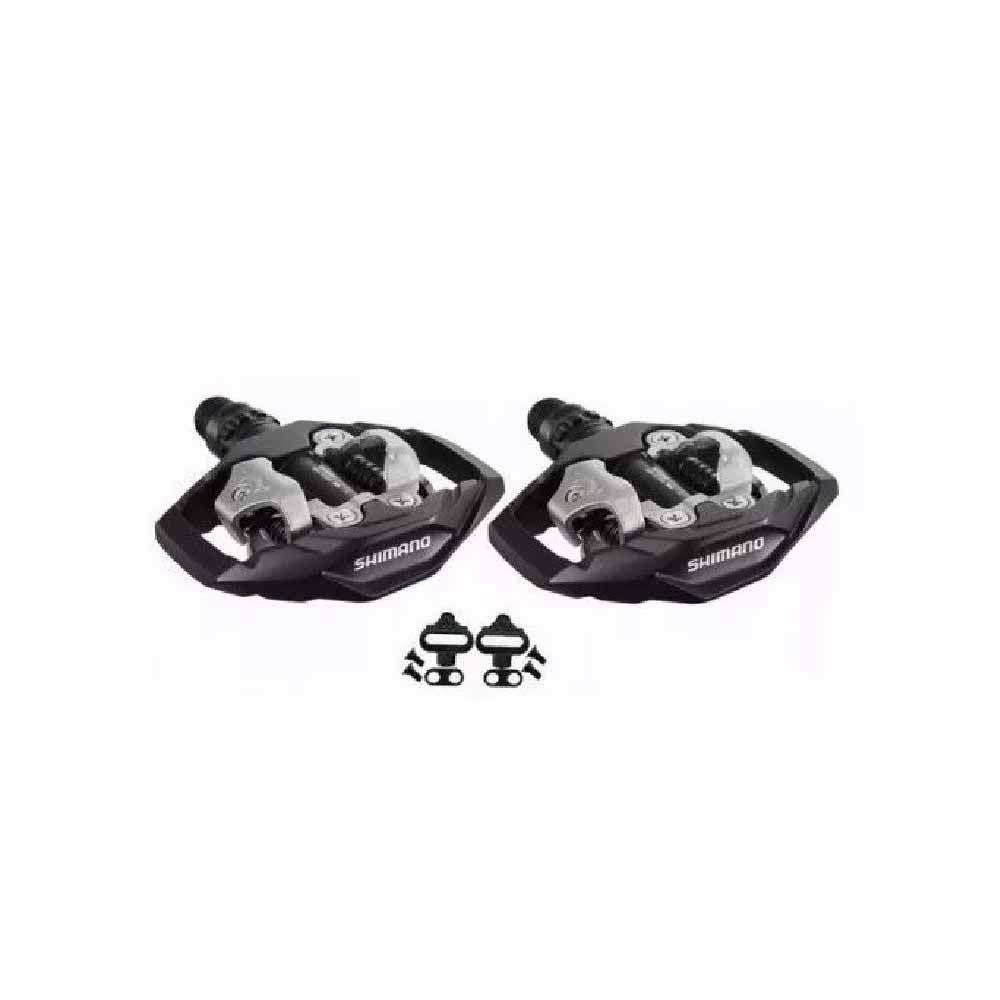 Pedal Shimano PD-M530 Preto P/ Sapatilha + Taquinho
