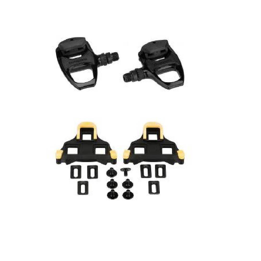 Pedal Shimano RD 540 Speed Preto /Para Sapatilha + Taquinho