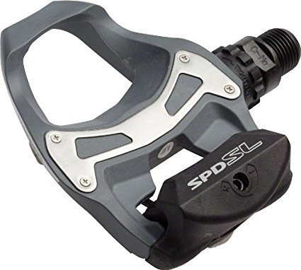 Pedal Shimano Speed Pd-r550 C/ Tacos cinza Original C/nf