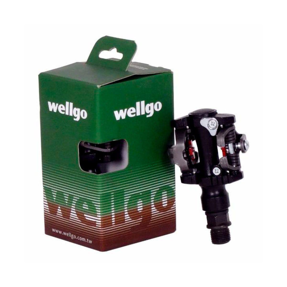 Pedal Wellgo Clip M919 Preto C/ Taquinho mtb