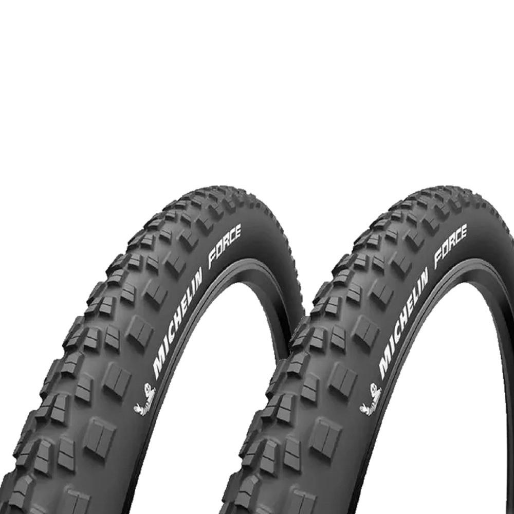 Pneu 2 par 29 Michelin 2.25 Force Access Line  Talao Arame