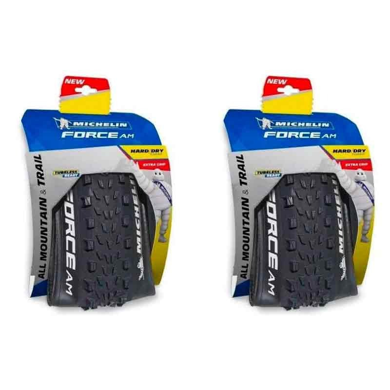 Pneu Michelin 27.5x2.35 2   Kevlar Force Am  2 UNIDADE PAR