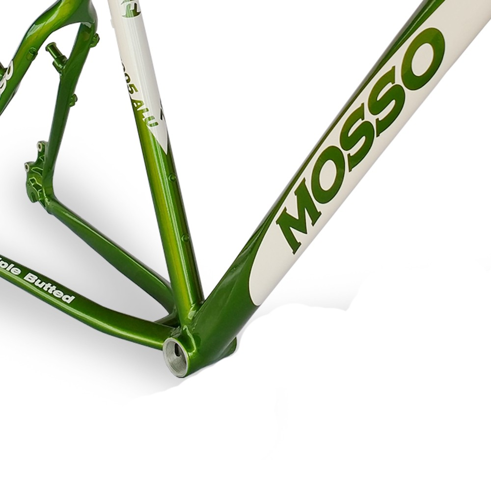 Quadro 26  Mosso 679TB7 Alumínio 7005 Aro 26x20 Branco Verde