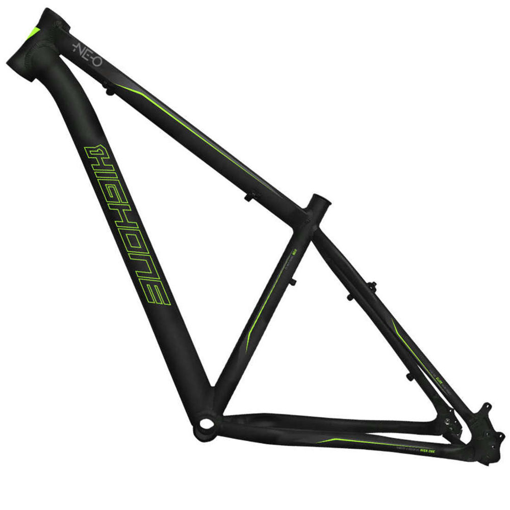 Quadro High One Neo Preto/verde Aro 29