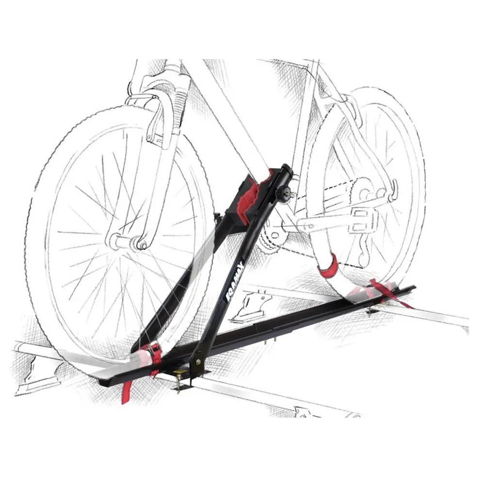 2 Rack Transbike De Teto Eqmax Velox Preto Suporte Para 1 Bike