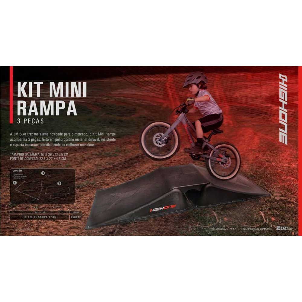 Rampa High One 3 Pcs Kit Grom Aro 16-20