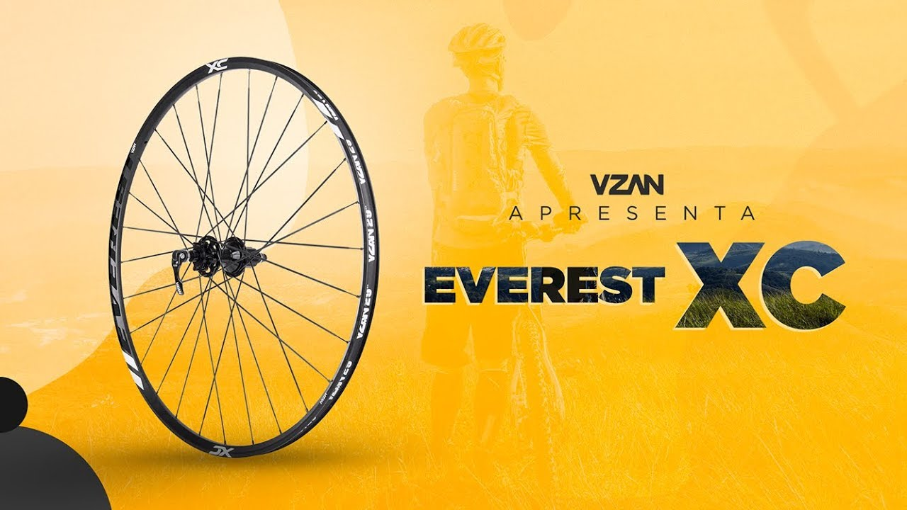 Roda Everest XC 29 shimano HG V21 Par Preto
