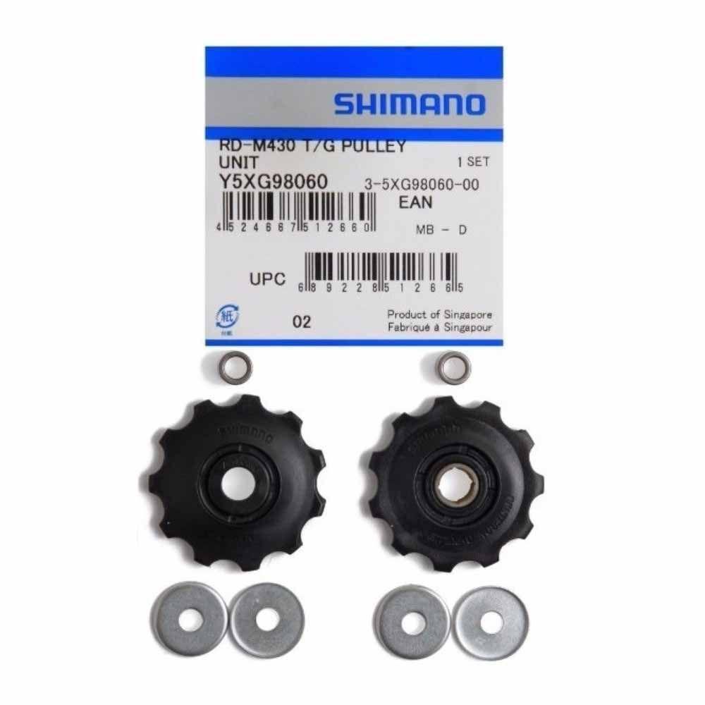 Roldana Cambio Shimano M430 9V Par Alivio Altus Acera Par