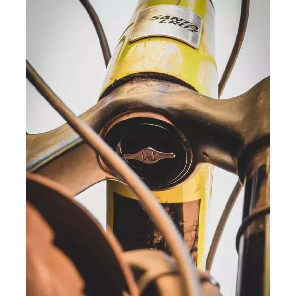 Safe Stash Preto Tampa Espiga Suspensao Mtb Bike Tapered