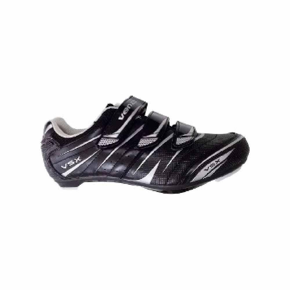 Sapatilha 35 Venzo Speed VSX Preto 3 Velcros
