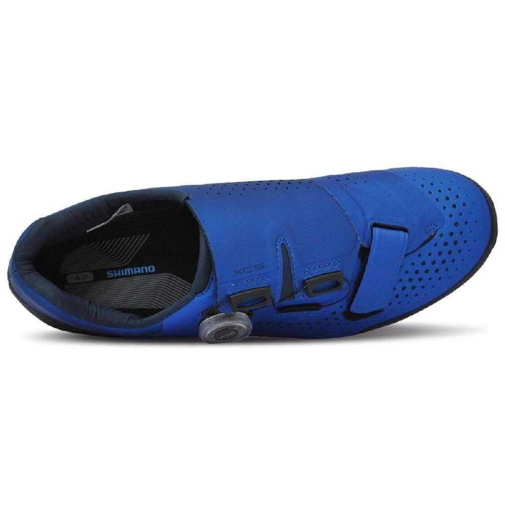 Sapatilha 44 Shimano Dynalast Mtb SH-XC501 Azul