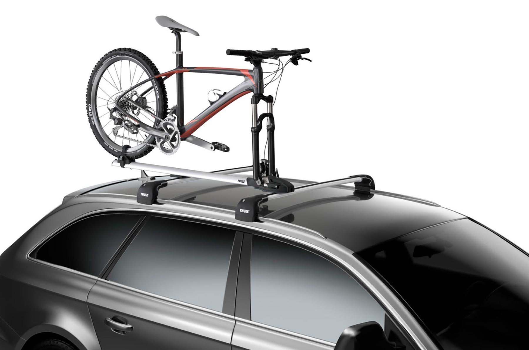 Suporte calha  p/ 1 Bicicleta p/ Teto Thule ThruRide (565)