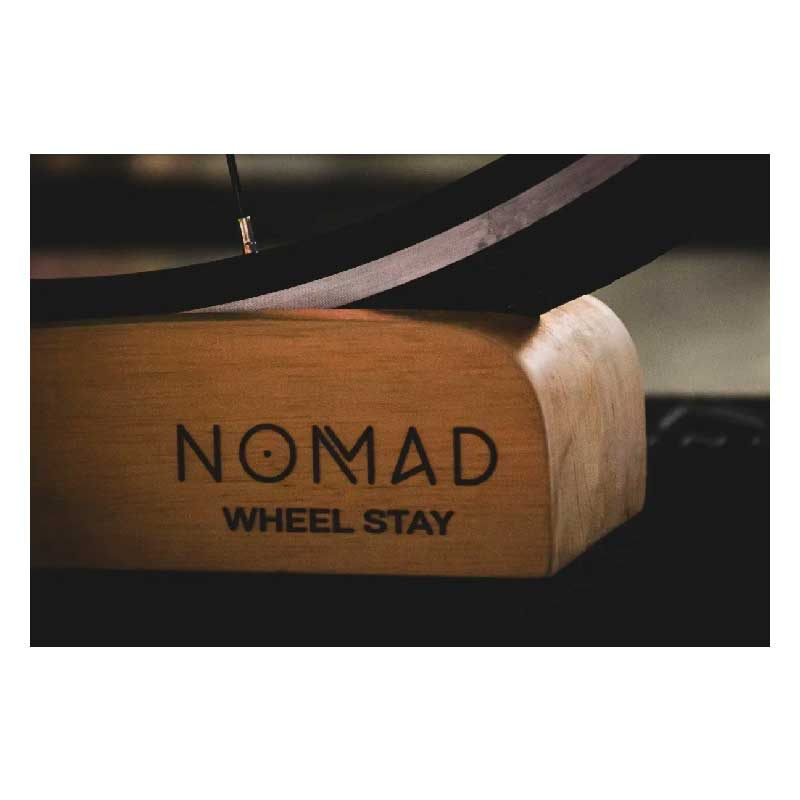 Suporte Para Roda Dianteira Bike Rolo Wheel Stay Nomad