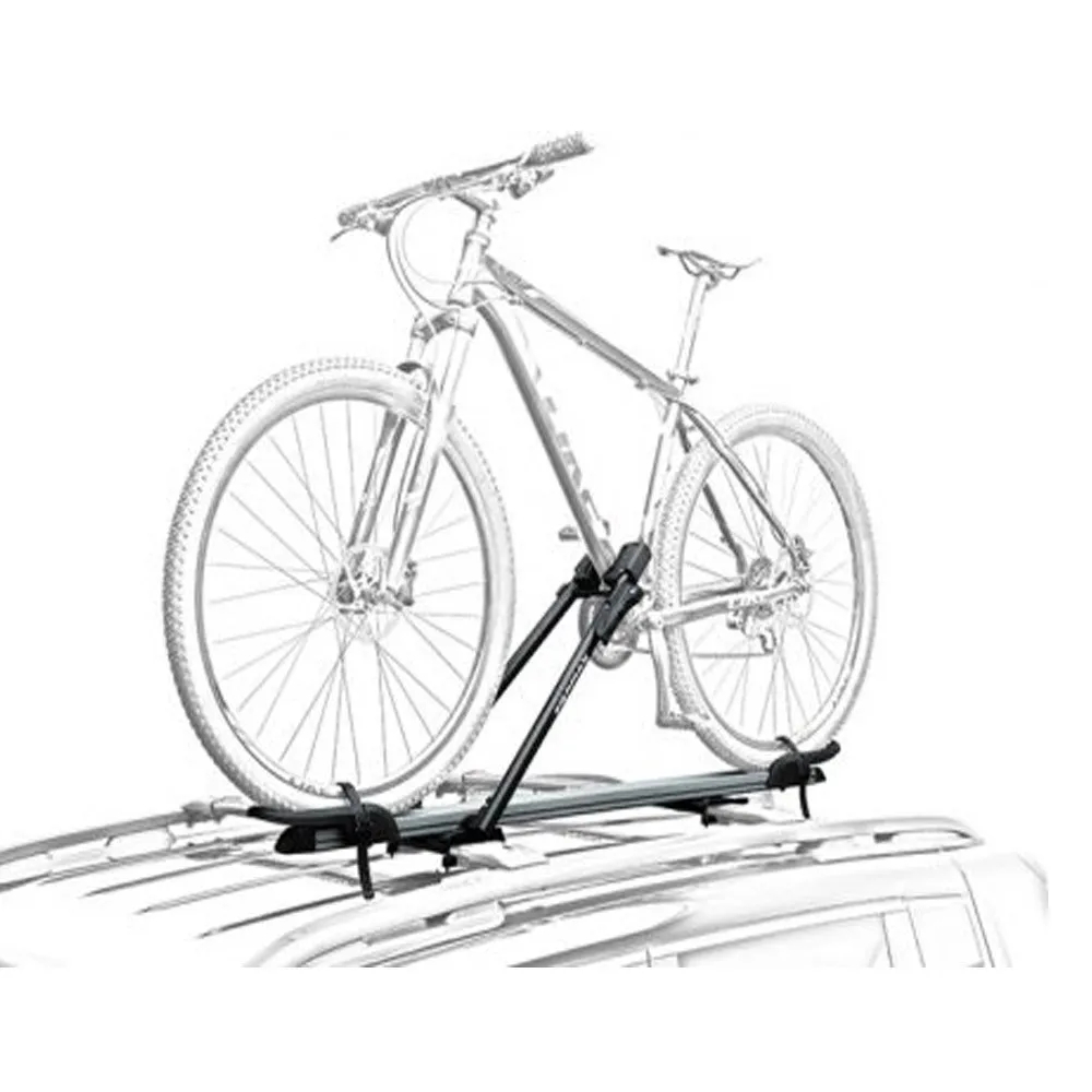Suporte Teto Bicicleta Transbike Eqmax Stark Prata Antifurto