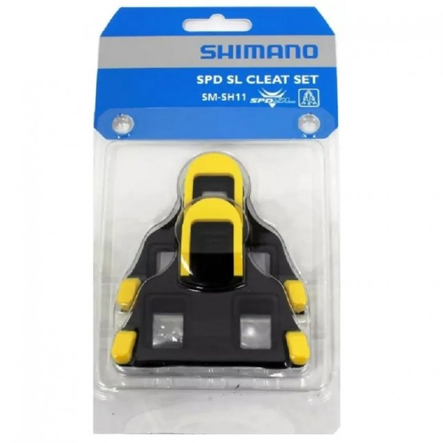 TACO Taquinho P/ Sapatilha Shimano Speed SM-SH11 Amarelo