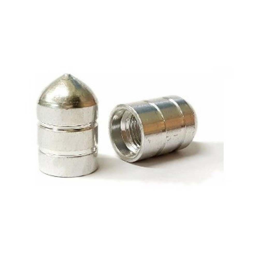 Tampa De Valvula Alumínio Polida Curta Unidade