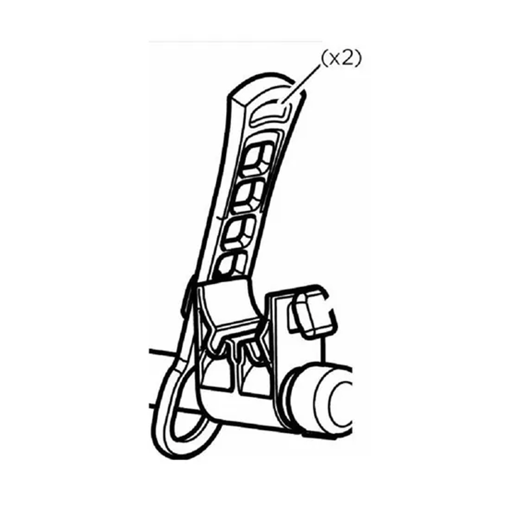 Tira borracha Transbike Thule  1 Pçs 972/974 (50903)