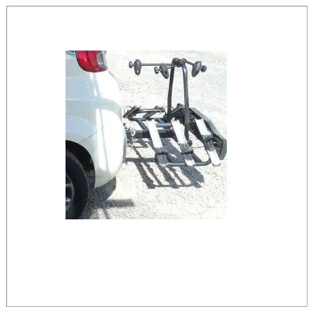 Transbike Suporte Rack P/Engate Para 3 Bike C/Sinalização
