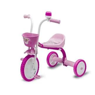 Triciclo you 3 girl Nathor rosa/branco